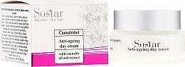 Kup Przeciwzmarszczkowy krem do twarzy na dzień z wyciągiem z konopi - Sostar Cannabidiol Anti Ageing Day Cream With Cannabis Extract