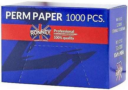 Papierki do trwałej ondulacji włosów - Ronney Professional