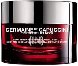 Kup Liftingujący krem do szyi i dekoltu - Germaine de Capuccini TimExpert Lift (In) Neck and Decolletage Tautening and Firming Cream