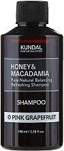 Kup Balansująco-odświeżający szampon do włosów Różowy grejpfrut - Kundal Honey & Macadamia Pink Grapefruit Shampoo