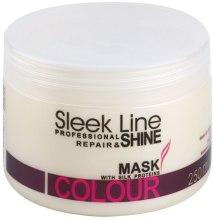 Kup Regenerująca maska do włosów farbowanych - Stapiz Sleek Line Colour Mask