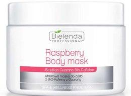 Kup Malinowa maska do ciała z biokofeiną z guarany - Bielenda Professional Raspberry With Guarana Bio-Caffeine Body Mask