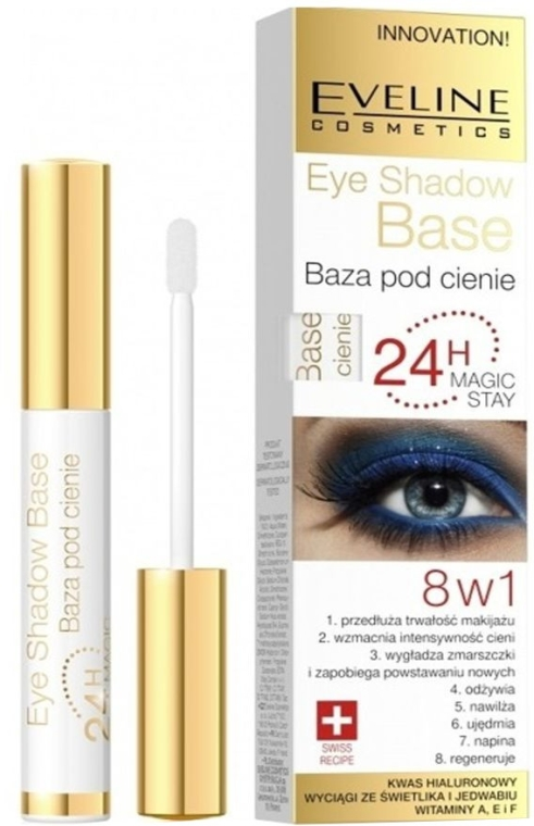 Baza pod cienie do powiek - Eveline Cosmetics Eye Shadow Base