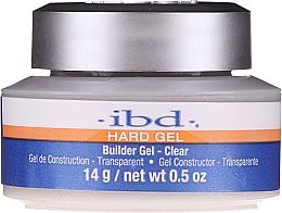 Kup Żel budujący do paznokci, przezroczysty - IBD Hard Gel Builder Gel Clear