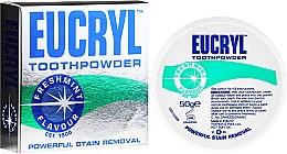 Kup Wybielający puder do zębów - Eucryl Toothpowder Freshmint