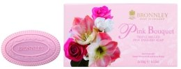 Kup Mydło do ciała - Bronnley Pink Bouquet Triple Milled Fine English Soap