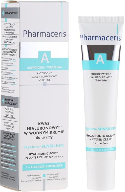 Kwas hialuronowy w wodnym kremie do twarzy - Pharmaceris A Hyaluro-Sensilium