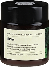 Kup Naturalna świeca sojowa Rozmaryn, bazylia i melisa - Mood Ideas Focus Candle