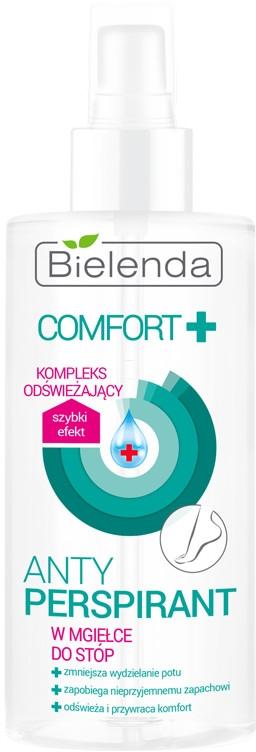 Antyperspirant w mgiełce do stóp - Bielenda Comfort+