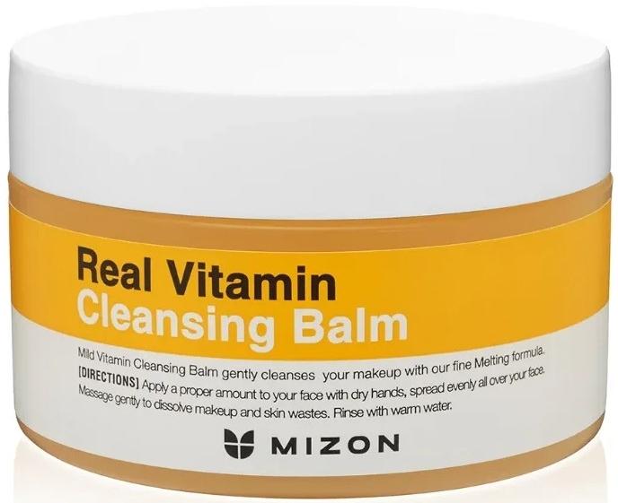 Balsam do oczyszczania twarzy i demakijażu - Mizon Real Vitamin Cleansing Balm — фото N1