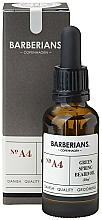 Kup Odżywczy olejek do układania brody - Barberians. №A4 Green Spring Beard Oil