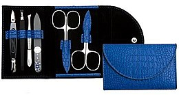 Kup Zestaw do manicure w niebieskim etui - DuKaS Premium Line PL 214M
