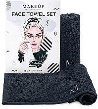 Kup Podróżny zestaw czarnych ręczników do twarzy MakeTravel - Makeup