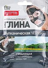 Kup Oczyszczająca wulkaniczna glinka czarna - FitoKosmetik