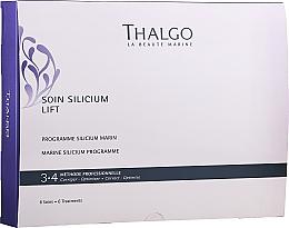 Kup Zestaw - Thalgo Marine Silicium Programme (6 x f/ser 3 ml + 6 x f/filler 2 ml + 6 x f/mask 100 g + 6 x f/mask + 6 x f/ser 10 ml)