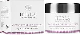 Kup Rewitalizujący peeling do ciała - Herla Luxury Body Care Cranberry & Cherry Blossom Revitalizing Body Scrub