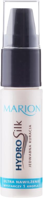 Ultranawilżająca jedwabna kuracja do włosów - Marion HydroSilk Jedwabna kuracja