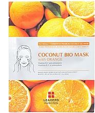 Kup PRZECENA! Rozjaśniająca maska z galaretką kokosową i ekstraktem z pomarańczy - Leader Coconut Bio Mask With Orange*