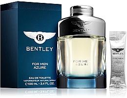 Kup Bentley Bentley For Men Azure - Zestaw (edt 100 ml + ash/balm 5 ml)
