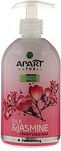 Kup Kremowe mydło w płynie do rąk Jedwab i jaśmin - Apart Natural Silk & Jasmine