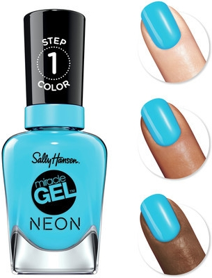 Lakier do paznokci - Sally Hansen Miracle Gel Neon Step 1 Nail Polish — фото N3