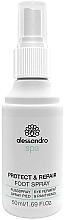 Kup Ochronny spray regenerujący do stóp - Alessandro International Spa Protect & Repair Foot Spray