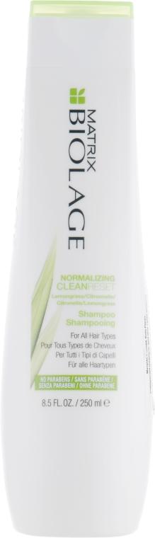 Oczyszczający szampon normalizujący do wszystkich typów włosów - Biolage Normalizing CleanReset Shampoo