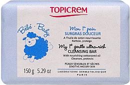 Kup Delikatne mydło oczyszczające dla niemowlaków i dzieci - Topicrem Bebe Baby my 1st Gentle Ultra Rich Cleansing Bar