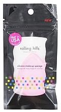 Kup Silikonowa gąbka do makijażu - Rolling Hills Silicone Makeup Sponge Pink