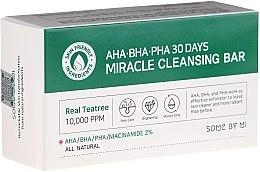 Kup Mydło do twarzy z naturalnymi kwasami AHA, BHA, PHA - Some By Mi AHA/BHA/PHA 30 Days Miracle Cleansing Bar