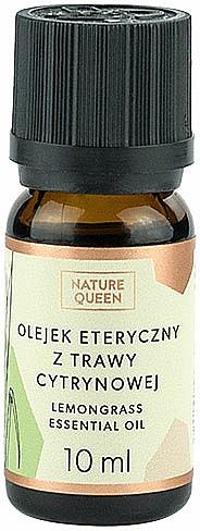 Olejek eteryczny z trawy cytrynowej - Nature Queen Lemongrass Essential Oil