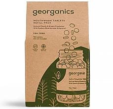 Kup Naturalne tabletki do płukania jamy ustnej Drzewo herbaciane - Georganics Mouthwash Tablets Tea Tree (uzupełnienie)