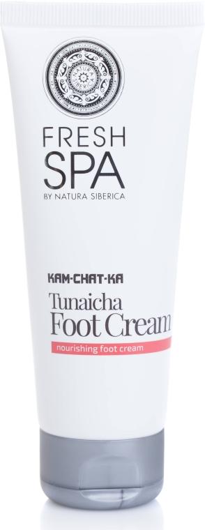 Odżywczy krem do stóp - Natura Siberica Fresh Spa Kam-Chat-Ka Tunaicha Foot Cream — фото N2