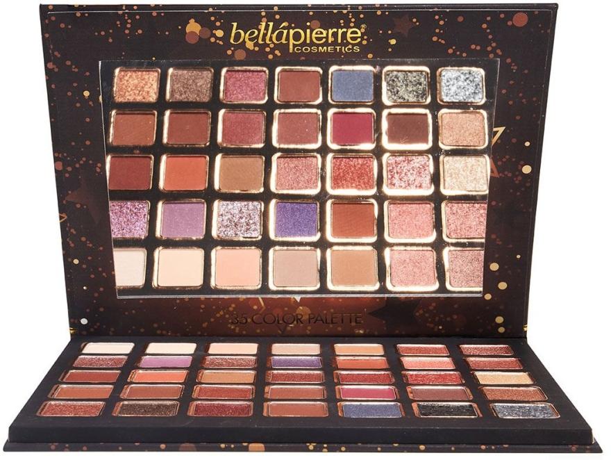 Paleta cieni do powiek - Bellapierre Ultimate Nude Eyeshadow Palette — фото N4