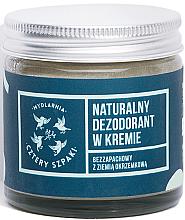 Kup Naturalny dezodorant bezzapachowy w kremie z ziemią okrzemkową - Cztery Szpaki