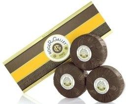 Kup Zestaw perfumowanych mydeł w kostce Drzewo pomarańczowe - Roger & Gallet Bois D'Orange Perfumed Soaps (soap/3x100g )