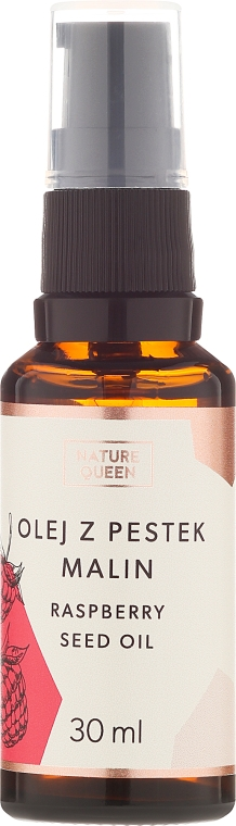 Olej z pestek malin - Nature Queen Raspberry Seed Oil