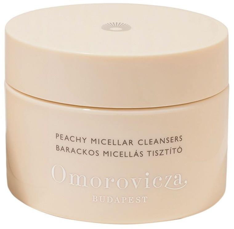Oczyszczające płatki micelarne do twarzy - Omorovicza Peachy Micellar Cleansers — фото N1