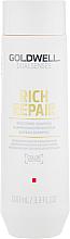 Kup Regenerujący szampon do włosów suchych i zniszczonych - Goldwell Dualsenses Rich Repair Restoring Shampoo