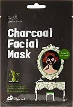Kup Maska na tkaninie do twarzy z węglem bambusowym - Cettua Charcoal Facial Mask