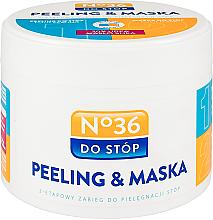 Kup 2-etapowy zabieg do pielęgnacji stóp Peeling i maska - Pharma CF No.36