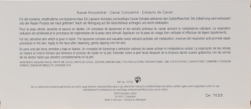 Ampułki do regeneracji skóry twarzy - Vyon Caviar Ampoules — фото N3