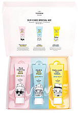 Kup PRZECENA! Zestaw - Village 11 Factory Sun Care Special Kit (fluid/25ml + block/25ml + cream/25ml) *