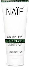 Kup Odżywczy szampon do włosów z lnem - Naif Nourishing Shampoo
