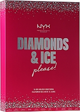 Kup Zestaw kalendarz adwentowy - NYX Professional Makeup Diamond & Ice Advent Calendar Makeup Set