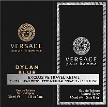 Kup Versace Dylan Blue Pour Homme - Zestaw (edt 30 ml + edt 30 ml)