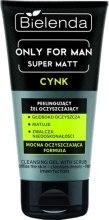 Kup Peelingujący żel oczyszczający dla mężczyzn Cynk - Bielenda Only For Men Super Matt