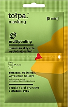 Kup Maseczka aktywnie wygładzająca 3w1 - Tolpa Masking Multipeeling Actively Smoothing Mask 3in1