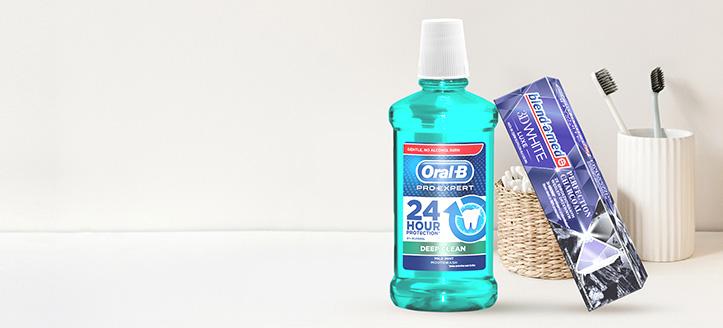Przy zakupie produktów Blend-a-med, Blend-A-Dent i Oral-B za min. 27 zł, pastę do zebów otrzymasz w prezencie.