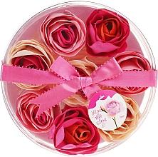 Kup Konfetti mydlane do kąpieli o zapachu róży, 8 szt. - Spa Moments Bath Confetti Rose